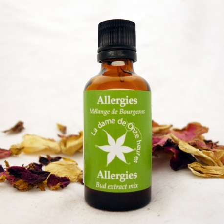 Gemmothérapie Synergies Allergies