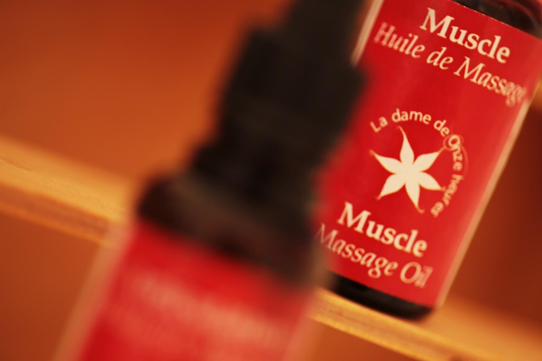 Nos huiles de massage